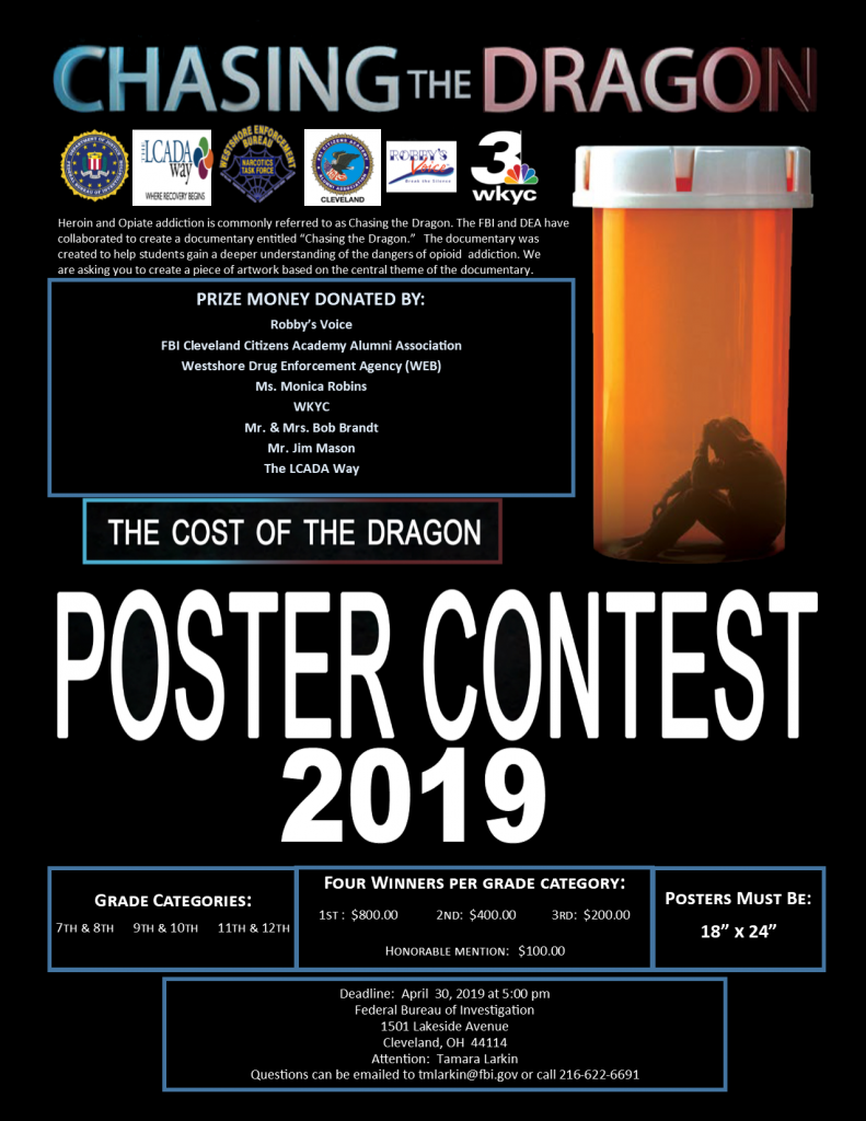 chasing the dragon poster contest